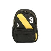 Ralph Lauren ラルフローレン 950080 BANNER STRIPE II BACK PACK M Black [並行輸入品]