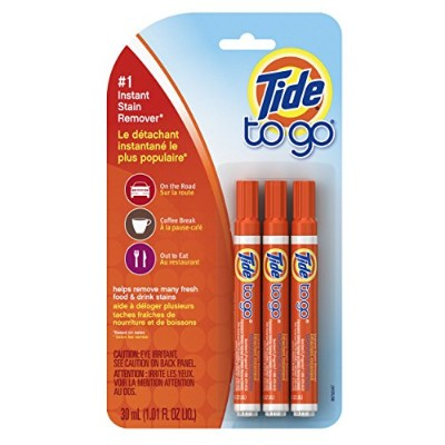 Tide To Go Instant Stain Remover Liquid Pen, 3 Count by Tide