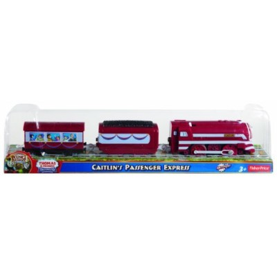 Thomas the Train: TrackMaster New Friends/Greatest Moments - Caitlin's Passenger Express [並行輸入品]