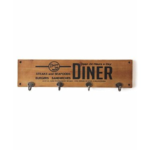 CULTURE MART ウッドハンガーフックボード WOOD HANGER HOOK BOARD (DINER) 101227