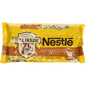 Nestle Toll House Butterscotch Morsels, 11oz (Pack of 3)ネスレ バタースコッチ チップス 311g x 3袋 並行輸入