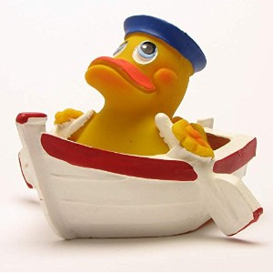 Rubber Duck Rowing Boat ゴム製のアヒル …