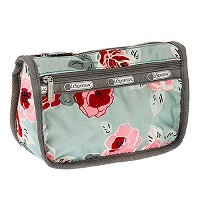 レスポートサック ポーチ LESPORTSAC Travel Cosmetic 7315 D796 Garden Sky Rose u-ls-7315-d796 並行輸入品