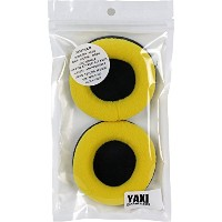 YAXI Fix80mm CPAD-80YEL イエロー 交換用べロアイヤーパッド