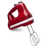 KitchenAid KHM512ER 5-Speed Ultra Power Hand Mixer, Empire Red [並行輸入品]