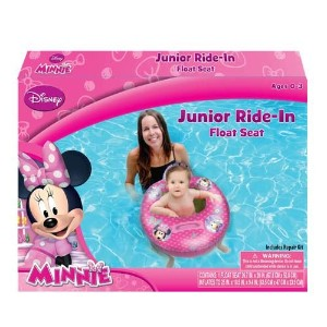 Minnie Mouse Bowtique Baby Toddler Ride-on Float Seat - Swim Raft, Ring, Pool, Beach Model: by Toys & Child