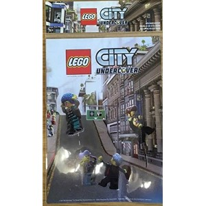 Lego City Undercover Sticker Sheet (輸入版)