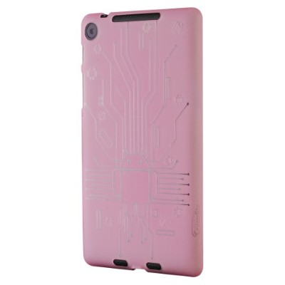 Cruzerlite Bugdroid Circuit Case for Nexus 7 (2013)(ピンク) N7FHD-Circuit-Pink