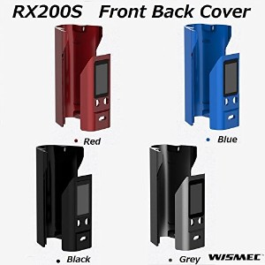 WISMEC RX200S 交換用 カバー Front and Back Cover (Red)