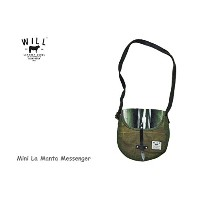 【WILL LEATHER GOODS】ウィルレザーグッズ Mini La Manta Messenger-Multi(D)-ミニメッセンジャー