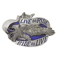 LIVE TO RIDE RIDE TO LIVE イーグル ベルト用バックル