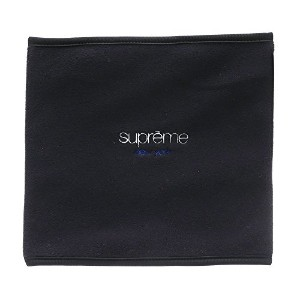 Supreme Polartec Fleece Neck Gaiter ネックウォーマー Black [並行輸入品]