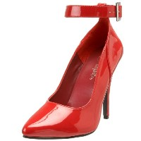 Pleaser SEDUCE-431 RED Size 13(US)