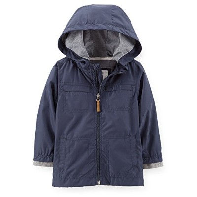 Carter's (カーターズ)ジャケット:Jersey Lined Woven Jacket 18M ( 78-83cm)  正規タグ保証