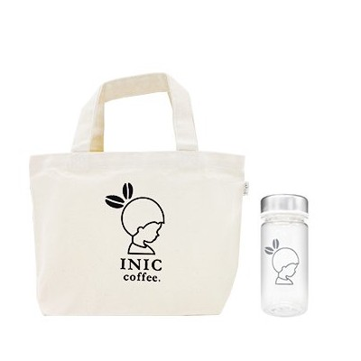INIC Take Me Bottle with Tote Bag S(250ml) with スムースアロマ