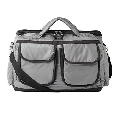 7AM Enfant   【VB001L】 Voyage Bag Large 【size:L、color:metallic silver】 [並行輸入品]