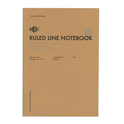 A5 ファンクションノート RULED LINE NOTEBOOK(横罫ノート) NOTE-A5F-