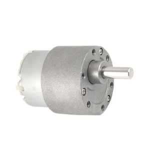 uxcell DCギアモーター 減速モーター 12V 0.4A 出力軸径6mm 60RPM