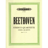 Beethoven, Ludwig - String Quartets Op. 59, 74, 95 for Two Violins, Viola and Cello
