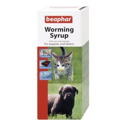 Beaphar Worming Syrup 45 ml (Pack of 2)