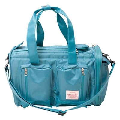 マンダリンブラザーズ BIG POCKET CARRY BAG S size BLUE