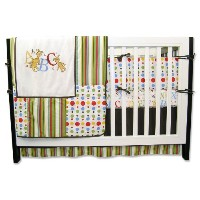 Trend Lab Dr. Seuss 4 Piece Crib Bedding Set, ABC by Trend Lab