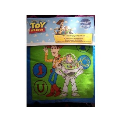 Toy Story 3pc Toddler Accessory Set by Crown Crafts