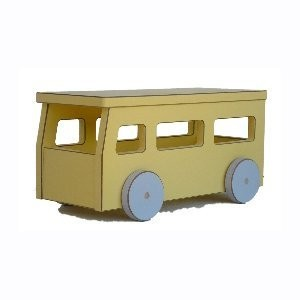 Pastel Toys School Bus by Pastel Toys