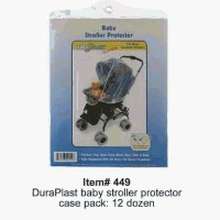 DD Discounts 344300 Transparent Plastic Baby Stroller Protector by DD Discounts