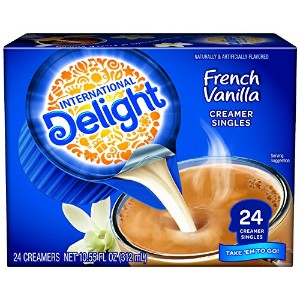 International Delight French Vanilla Creamer 13mlx24個入り フレンチバニラ クリーマー