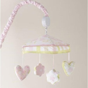 Love Musical Mobile by Laura Ashley Baby