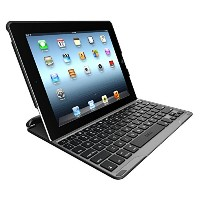 並行輸入品 ZAGGkeys PROfolio Keyboard Case for iPad 2/3/4