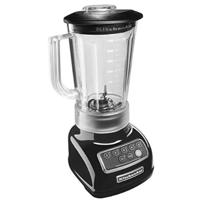 KitchenAid ksb1570 5-speed Blender with 56-ounce BPAフリーピッチャー NoSize ブラック KSB1570OB