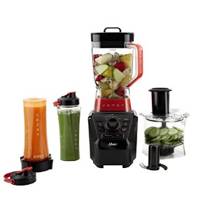 Oster BLSTVB-103-000 Versa 1100-watt Professional Performance Blender with Two 20-Ounce Blend'N Go...