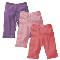 Baby Soy Essential 3-piece Slip-on-Pant Set for Girls, 6-12M by Babysoy