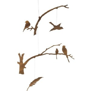 Birds of a Feather Modern Mobile by IGE