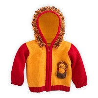 Joobles Organic Baby Cardigan Sweater - Roar the Lion (6-12 Months) by Joobles