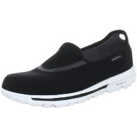 [スケッチャーズ] SKECHERS GO Walk 13510 BKW (Black Textile/ White Trim/23.0)