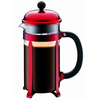 Bodum Red Chambord 8-Cup Coffee Maker by Bodum