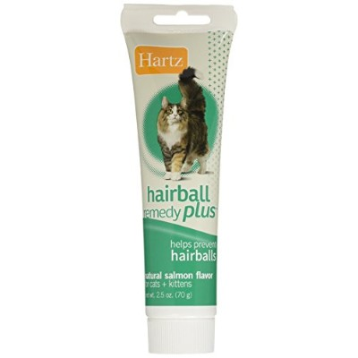 Hartz Hairball Remedy Plus Paste for Cats and Kittens, 2.5 Oz. by HARTZ