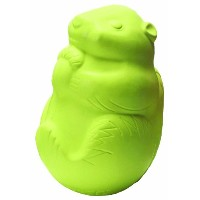 Jolly Pet Critter Squirrel Interactive Treat Dispensing Dog Chew Toy Green 3.25""