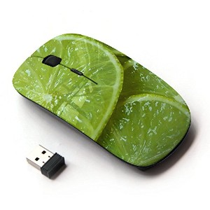 KOOLmouse [ ワイヤレスマウス 2.4Ghz無線光学式マウス ] [ Green Fresh Fruit Clean Spring Minimalist ]