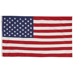 Valley ForgeUSS-1U.S. Flag Replacement-3X5 POLY COTTON FLAG (並行輸入品)