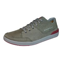 Caterpillar Kine Mens Leather Suede Sneakers / Shoes-Brown-30