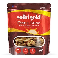Solid Gold Cinna-Bone Biscuit, Standard Size Holistic Dog Treat, All Ages, All Sizes, 2.5 lb Bag by...