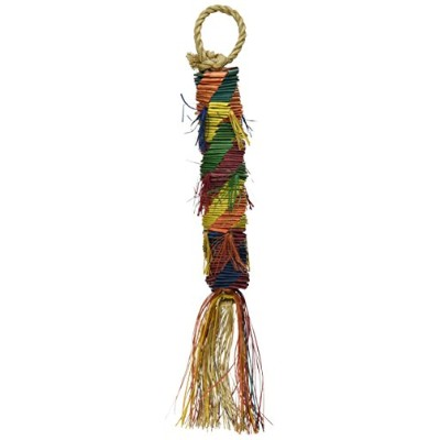 Planet Pleasures Hex Tower 9 Small Bird Toy by Planet Pleasures