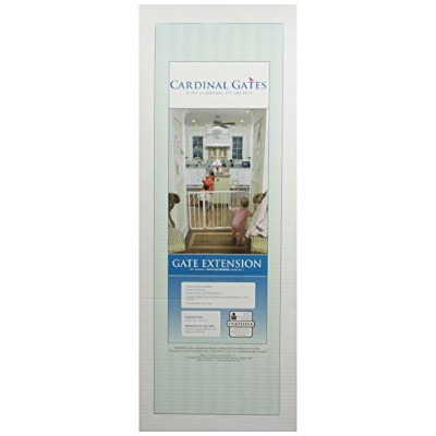 Cardinal Pet Gates 10.5-Inch Extension, White by Cardinal Gates