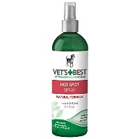 Vet's Best Natural Formula Hot Spot Foam Fast Itch Relief Treatment for Dogs 16z