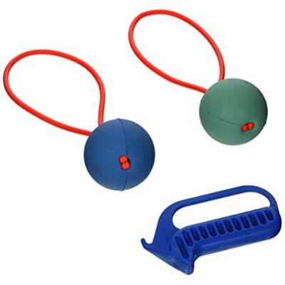 Pro Ball Go-Frrr Slingshot-Action Dog Fetch Toy, Double Play Kit, Large by Proball