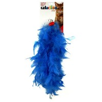 JW Pet Featherlite Cat Boa Fluffy Feathers Interactive Bright Color Fun Pet Toy